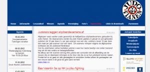 Vorige JudoVianen.nl website