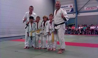 Debuut Judo Vianen aan Ne-waza toernooi