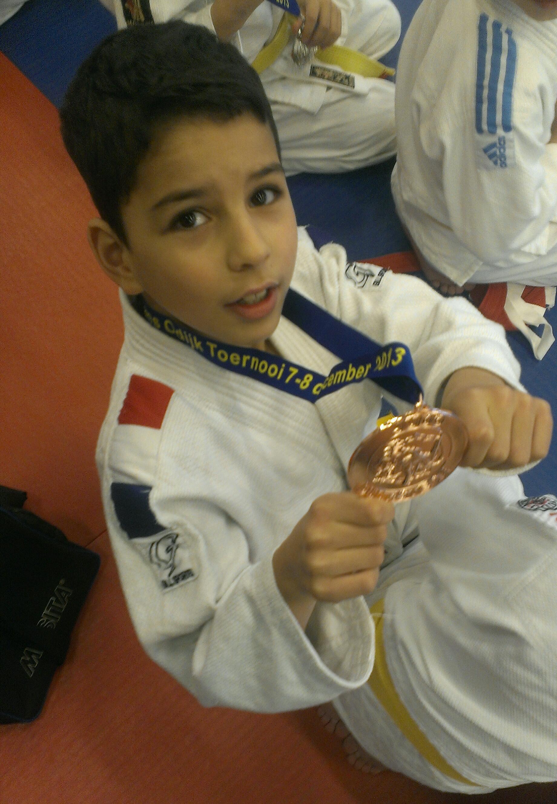 Brons voor Emin Mahdad en Nick Brouwer