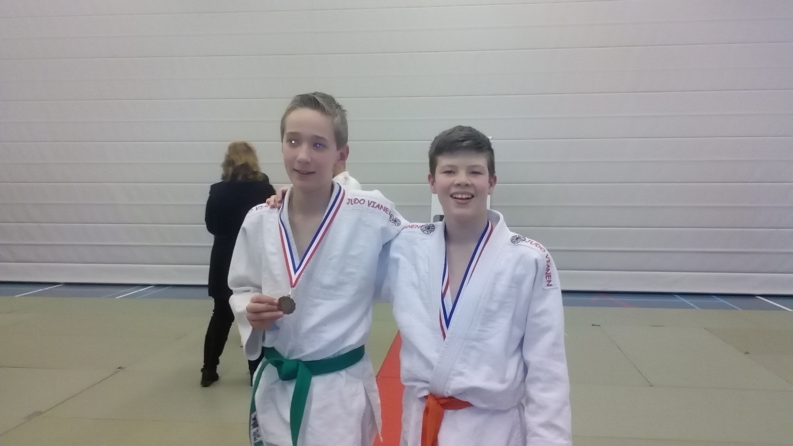 Judoka pakken medailles op ne-waza toernooi