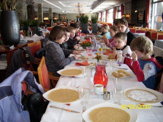 Pannenkoek-evenement wederom succes