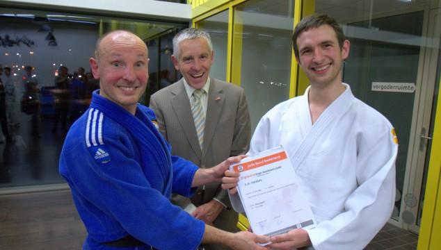 Coen Versluis heeft zijn Dojo Assistent diploma!