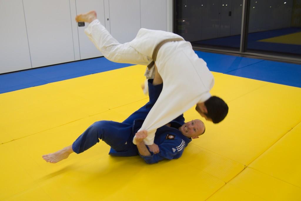 Hans-Brander-worp 40 jaar judo vianen