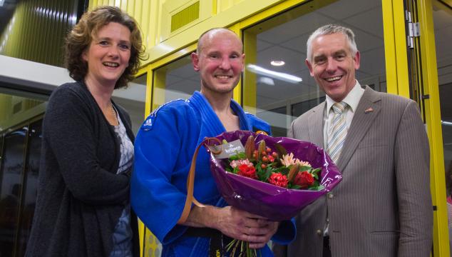 Hans Brander 40 jaar bij Judo Vianen