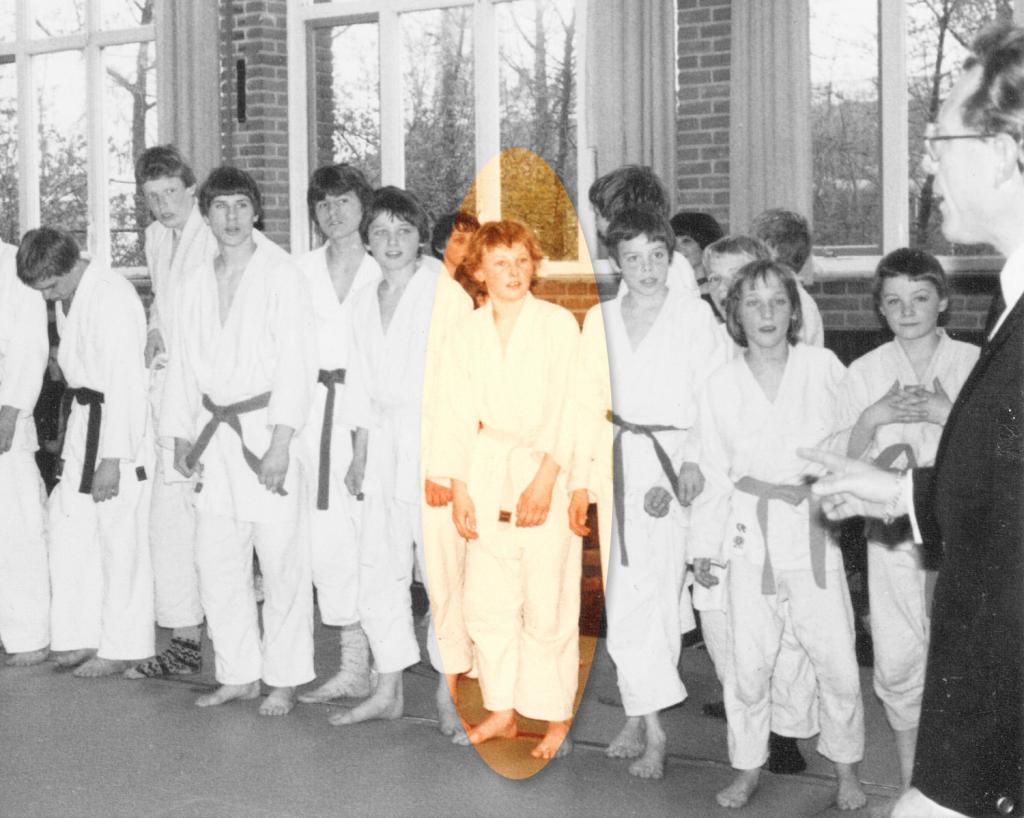 Teamwedstrijd-Lijnbaan-jaren-80 Hans Brander