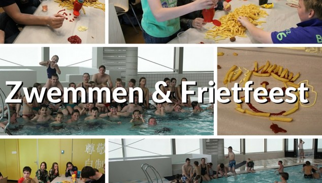 Zwemmen en frietfeest