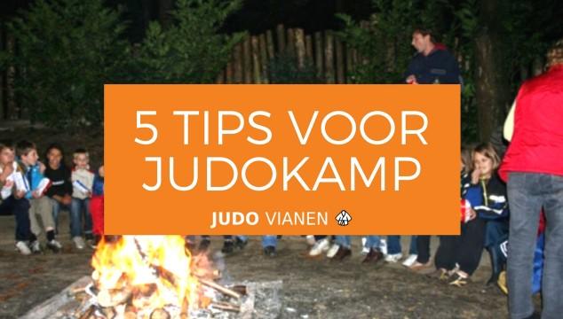 5 tips voor het judokamp