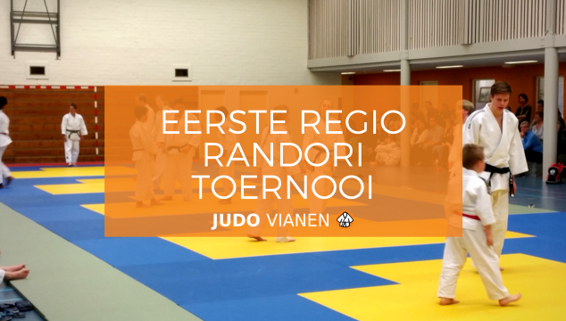 Eerste Regio Randori Toernooi IJsselstein