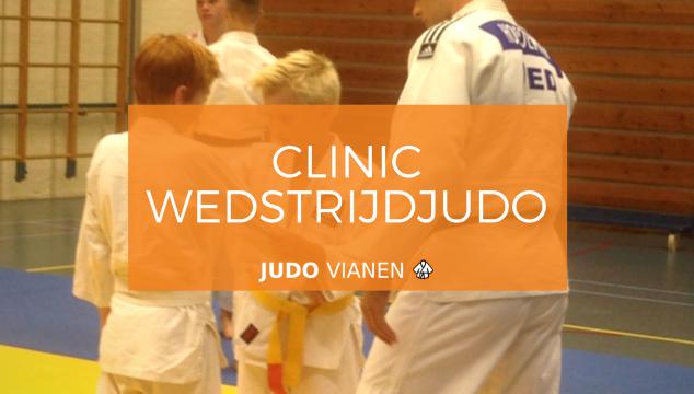 Clinic wedstrijdjudo bij Judo Ryu Rijkse