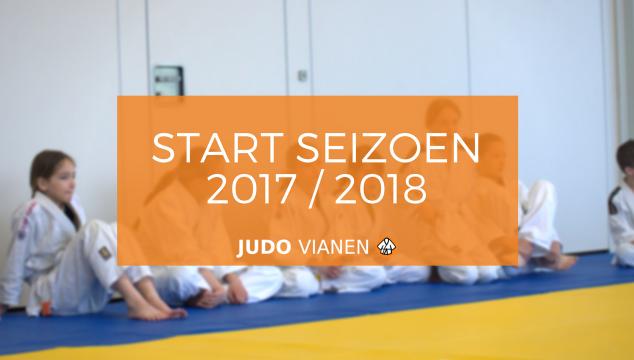 Start seizoen 2017 / 2018