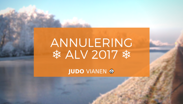 [BELANGRIJK] Annulering ALV 11 december 2017