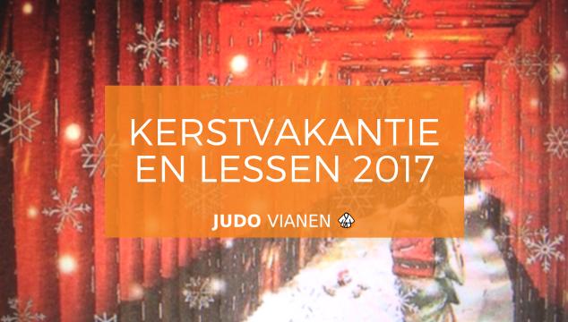 Kerstvakantie én de lessen tot het nieuwe jaar
