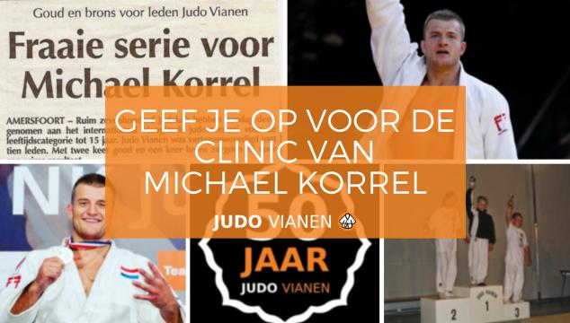 Geef je op voor een clinic van Michael Korrel!