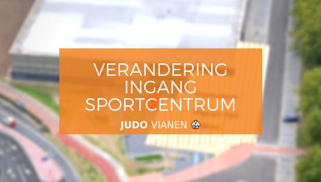 Verplaatsing ingang Sportcentrum Helsdingen
