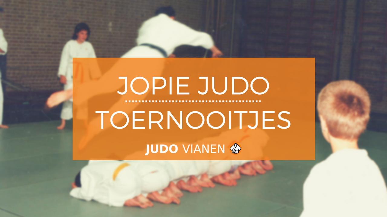 Jopie Judo 2 – Eerste toernooitjes