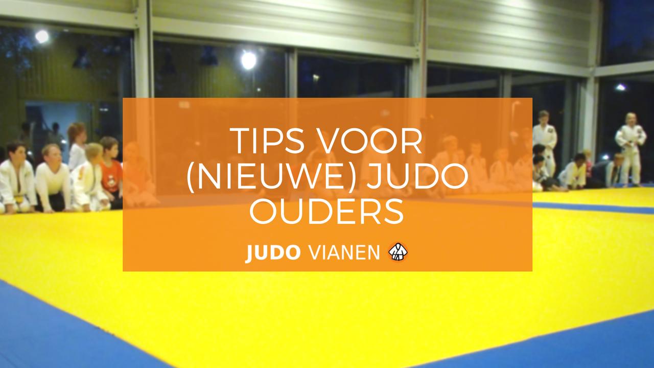 Tips voor (nieuwe) judo ouders