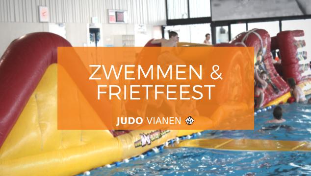 Zwem en friet festijn