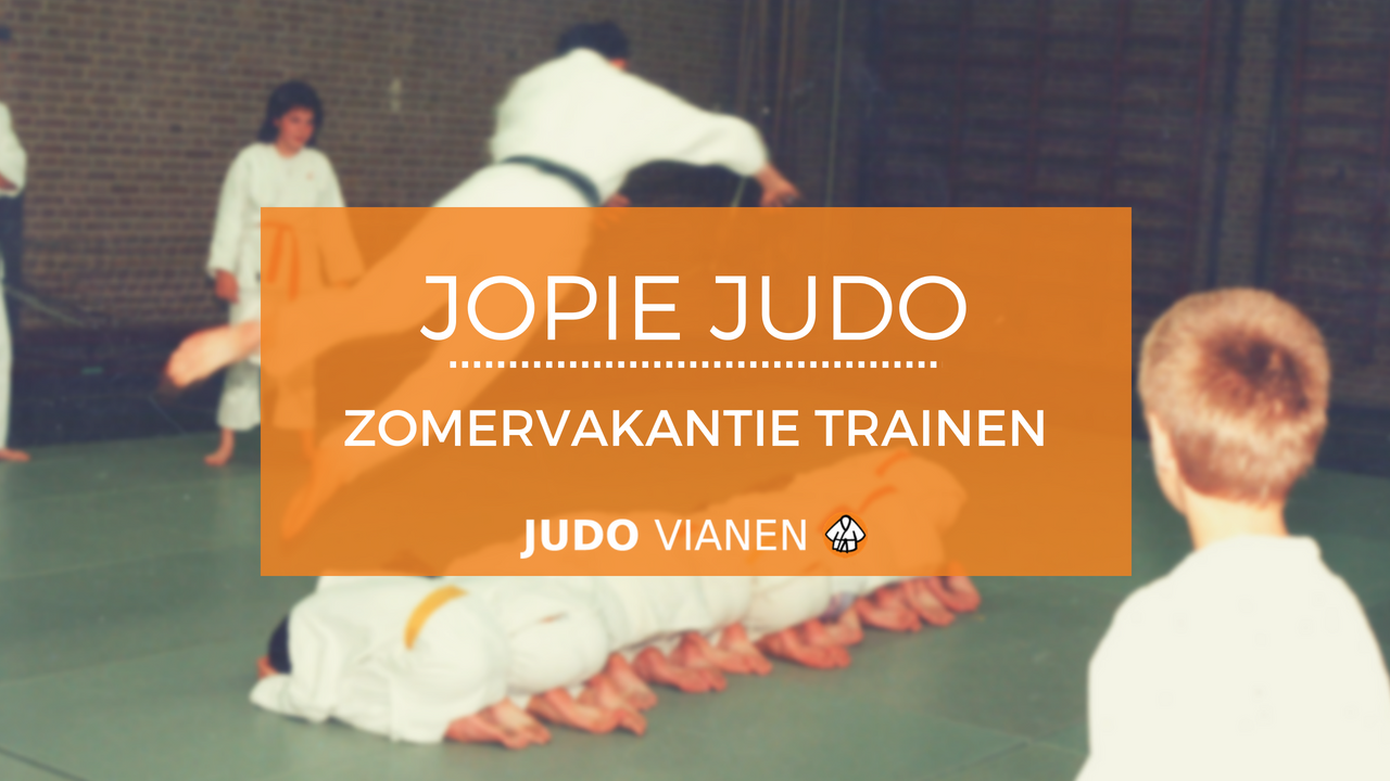Jopie Judo 8 – Zomervakantie trainen