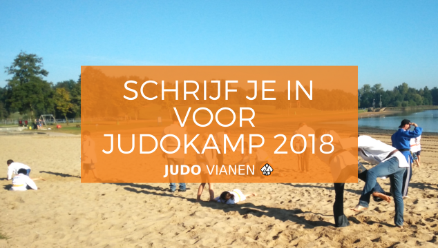 Schrijf je in voor het judokamp!