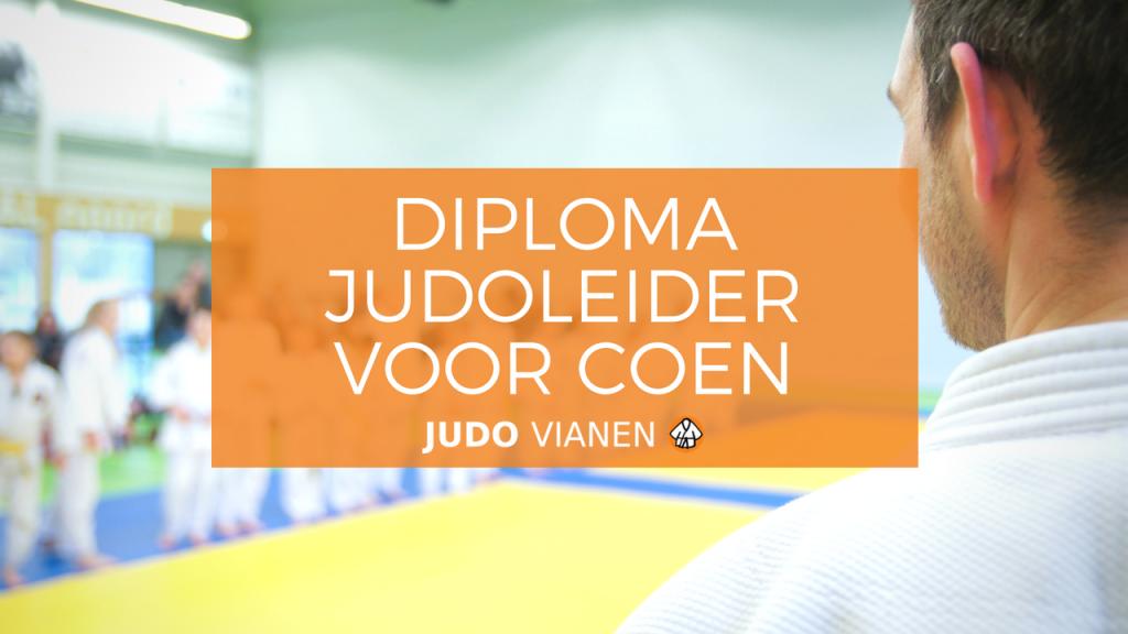 diploma judoleider coen