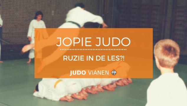 Jopie Judo 16 – Ruzie in de les?!
