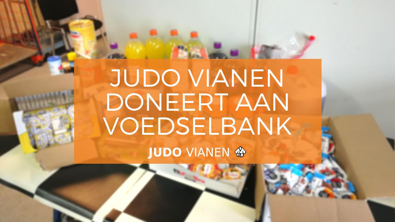 judo vianen doneert aan voedselbank vianen titelafbeelding