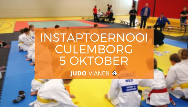Instaptoernooi Culemborg 5 oktober 2018