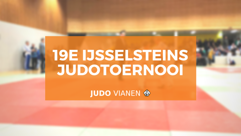 19e ijsselsteins judotoernooi